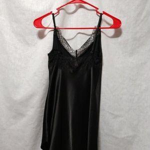 Victoria's Secret XS Black Lace Neck Lingerie